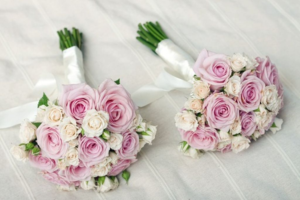 Bridal flower arrangements wedding and bridal inspiration for Bouquet of flowers for weddings