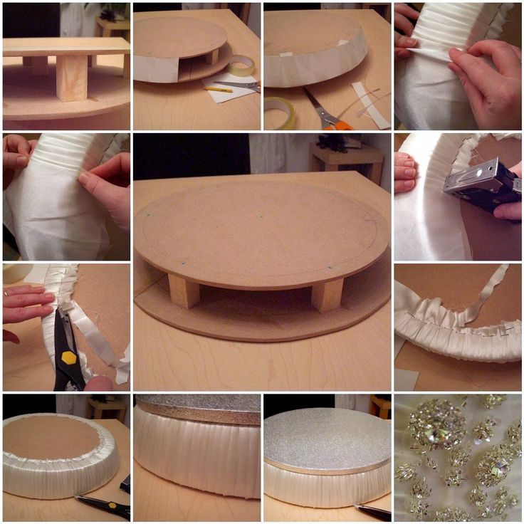 Homemade Cake Stand Making