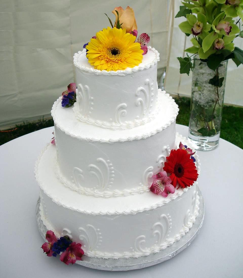 Cake Ideas For Small Wedding : Easy Wedding Cake Decorating Ideas - Wedding and Bridal ...