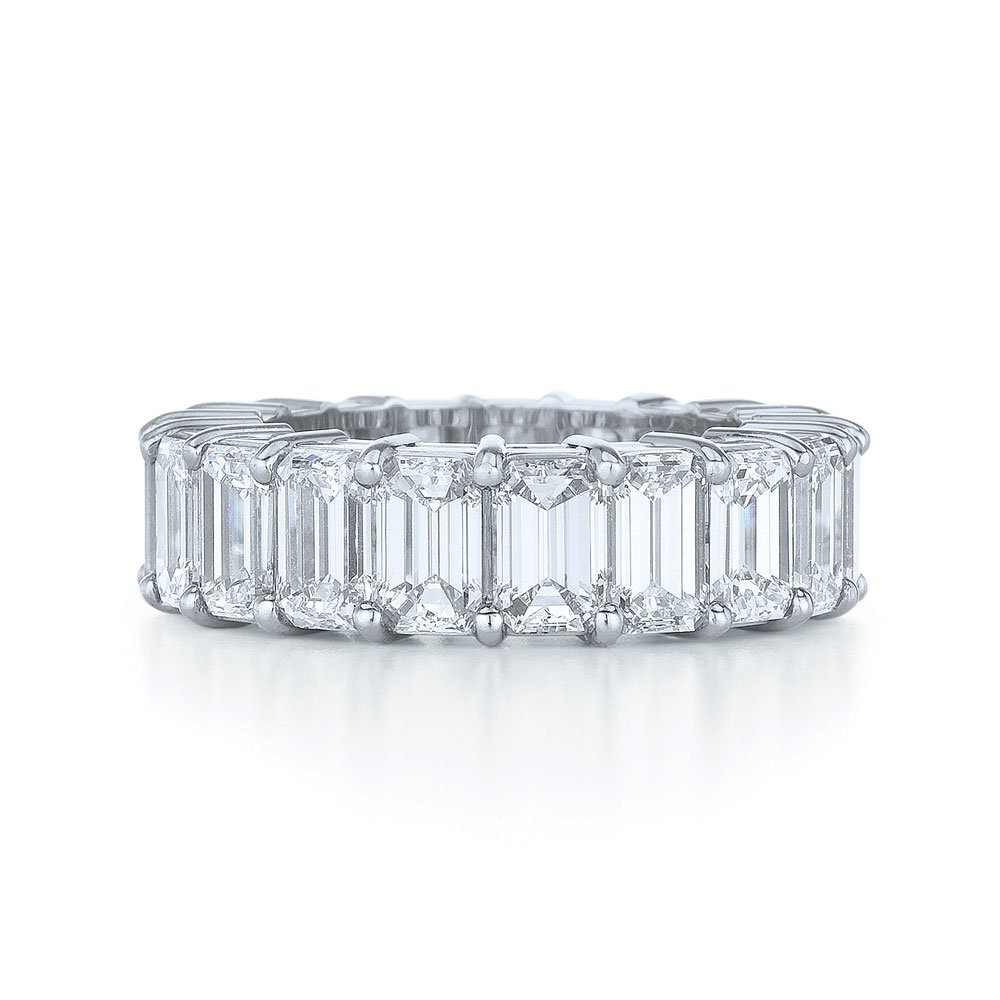 emerald cut wedding band wedding and bridal