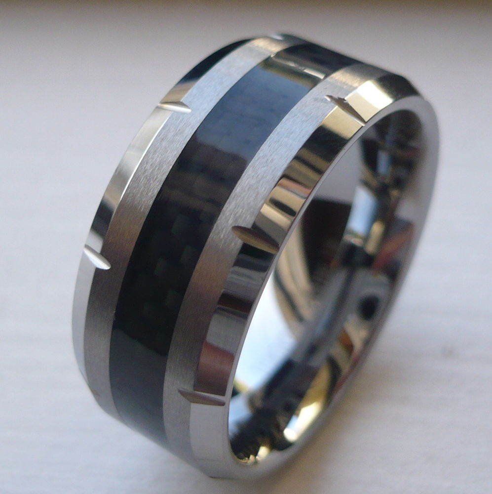 mens 10mm tungsten wedding bands wedding and bridal inspiration. Black Bedroom Furniture Sets. Home Design Ideas