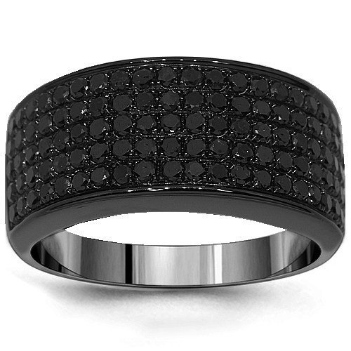 mens black diamond wedding band wedding and bridal