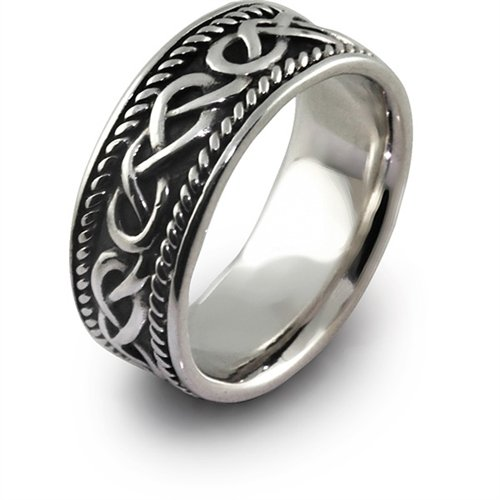 Mens celtic wedding bands wedding and bridal inspiration for Celtic wedding rings for men