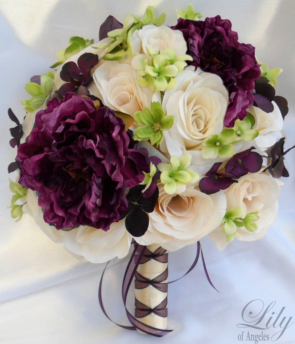pre made silk wedding bouquets wedding and bridal inspiration. Black Bedroom Furniture Sets. Home Design Ideas