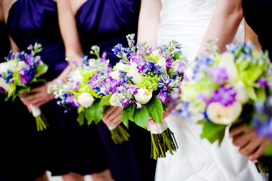Purple And Green Wedding Flowers Wedding And Bridal Inspiration