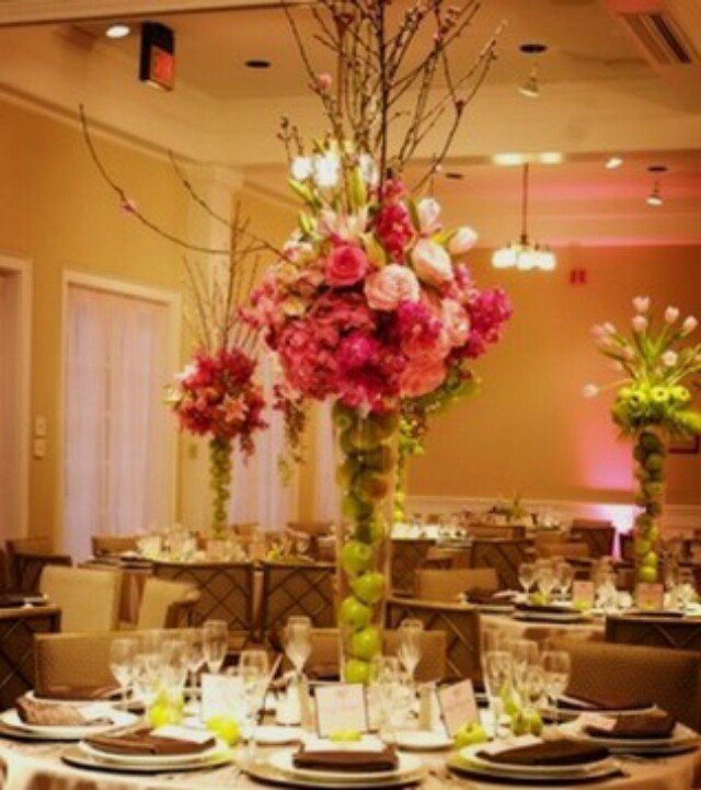 Silk Flower Centerpieces For Wedding Reception Wedding And Bridal Inspiration