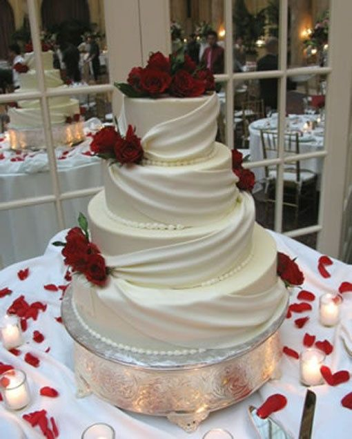 Cake Design Ideas For Wedding : Simple Wedding Cake Decorating Ideas - Wedding and Bridal ...