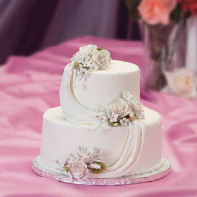 Cake Ideas For Small Wedding : Small Simple Wedding Cakes - Wedding and Bridal Inspiration