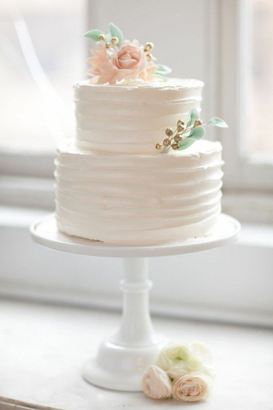 wedding cake ideas article which is arranged within small wedding