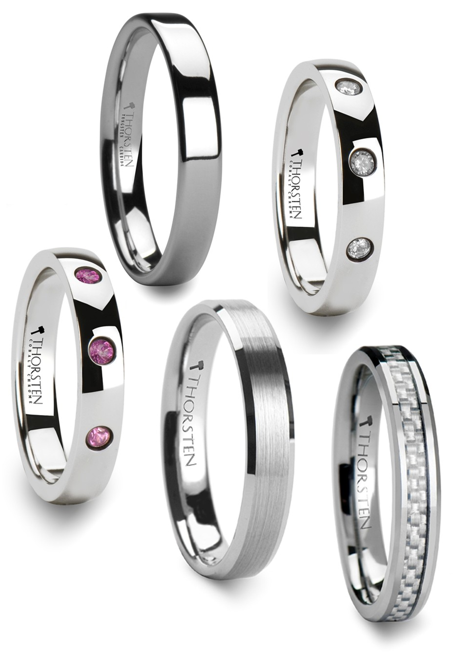 tungsten wedding bands for women wedding and bridal With tungsten womens wedding rings