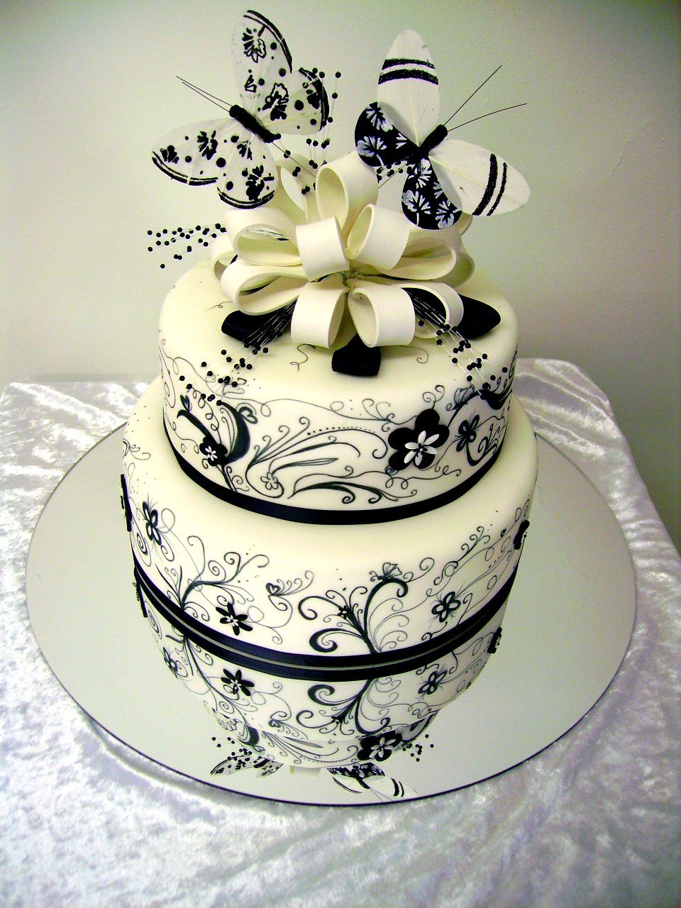 Wedding Cake Decor - Wedding and Bridal Inspiration