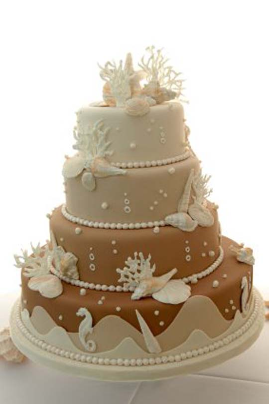 Cake Decorating Ideas Summer : Wedding Cake Ideas for Summer - Wedding and Bridal Inspiration