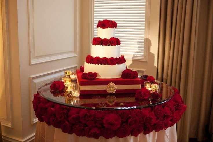 Wedding Cake Table Decorations Ideas - Wedding and Bridal ...