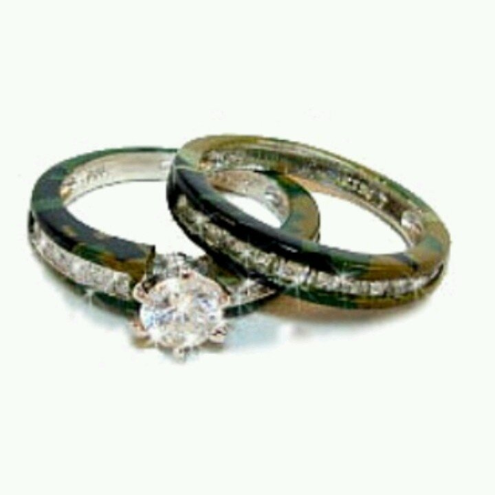 womens camo wedding bands wedding and bridal inspiration With camo womens wedding rings