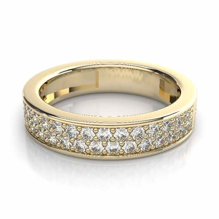 Yellow Gold Wedding Bands for Women Wedding and Bridal Inspiration