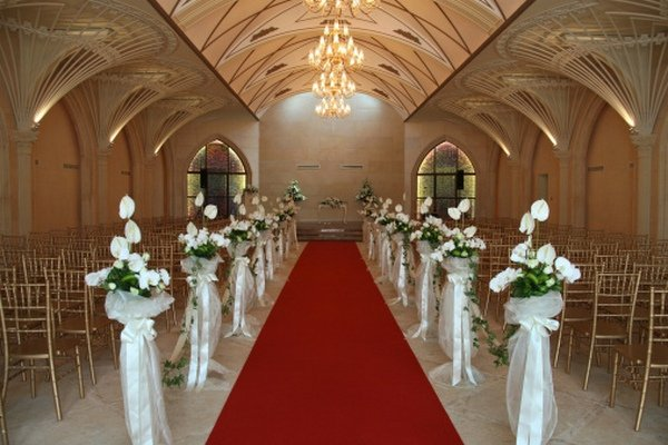 pic is part of Getting it Right with Church Wedding Decorations ...