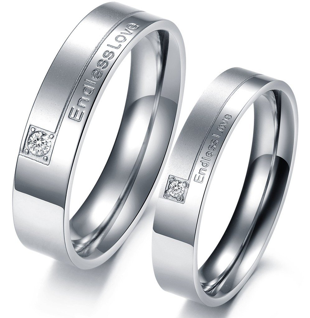 Matching Titanium Wedding Bands - Wedding And Bridal Inspiration
