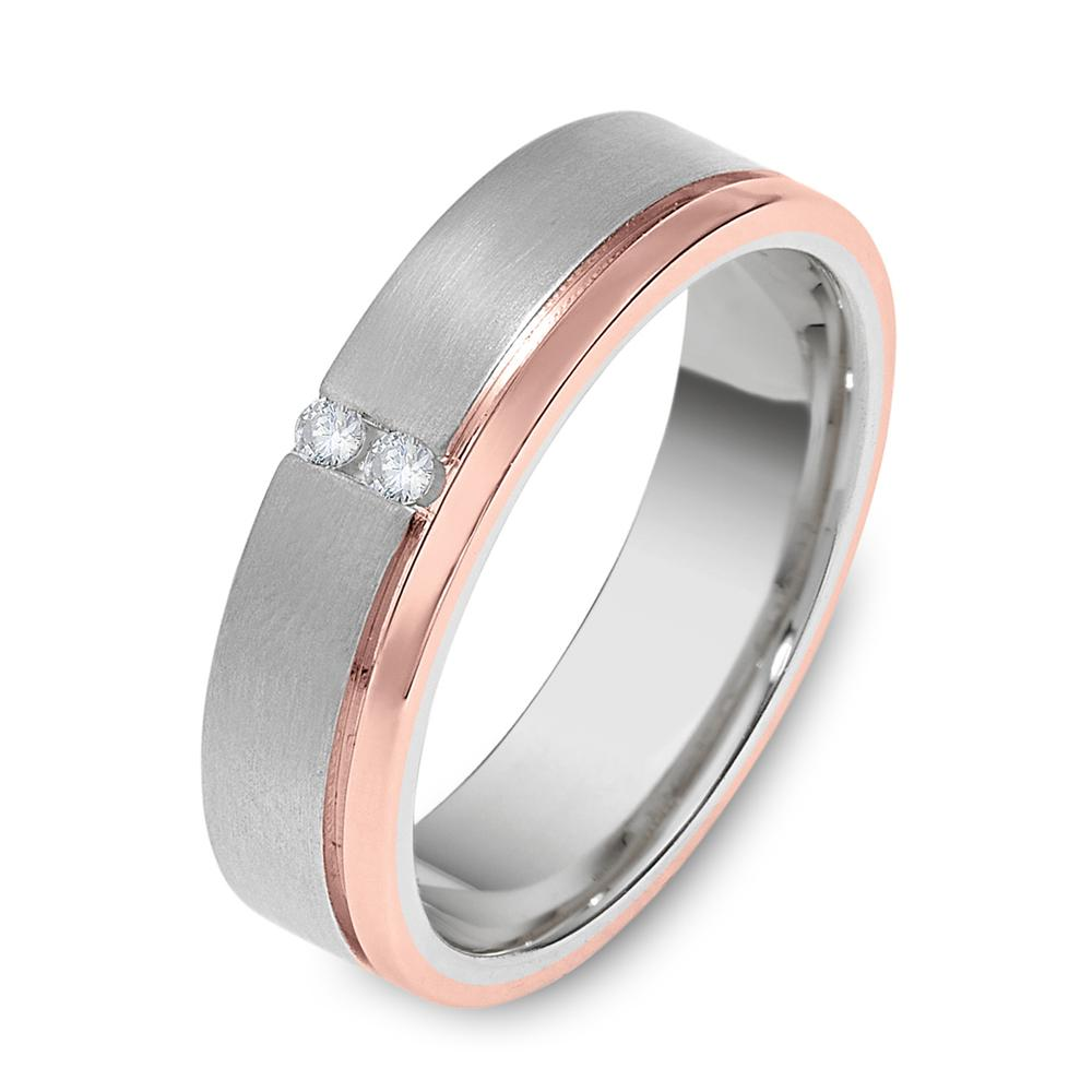 rose gold and white gold mens wedding band wedding and bridal inspiration. Black Bedroom Furniture Sets. Home Design Ideas