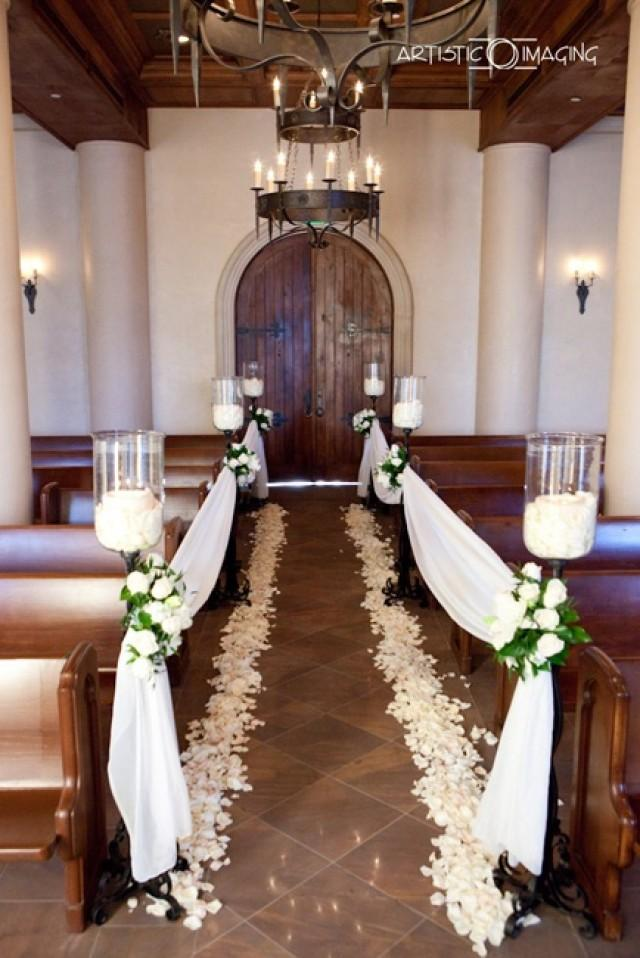 Small Church Wedding Decorations