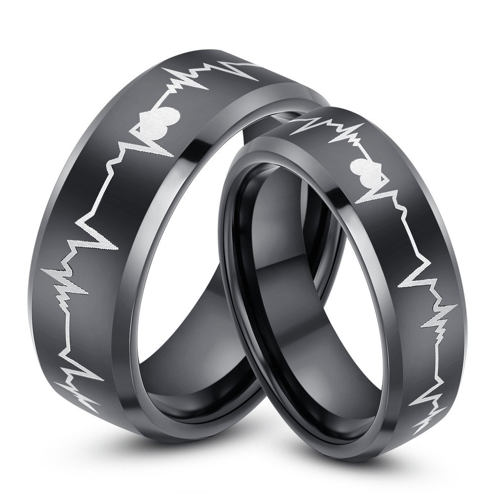 Unique Matching Wedding Bands His And Hers Wedding And Bridal Inspiration