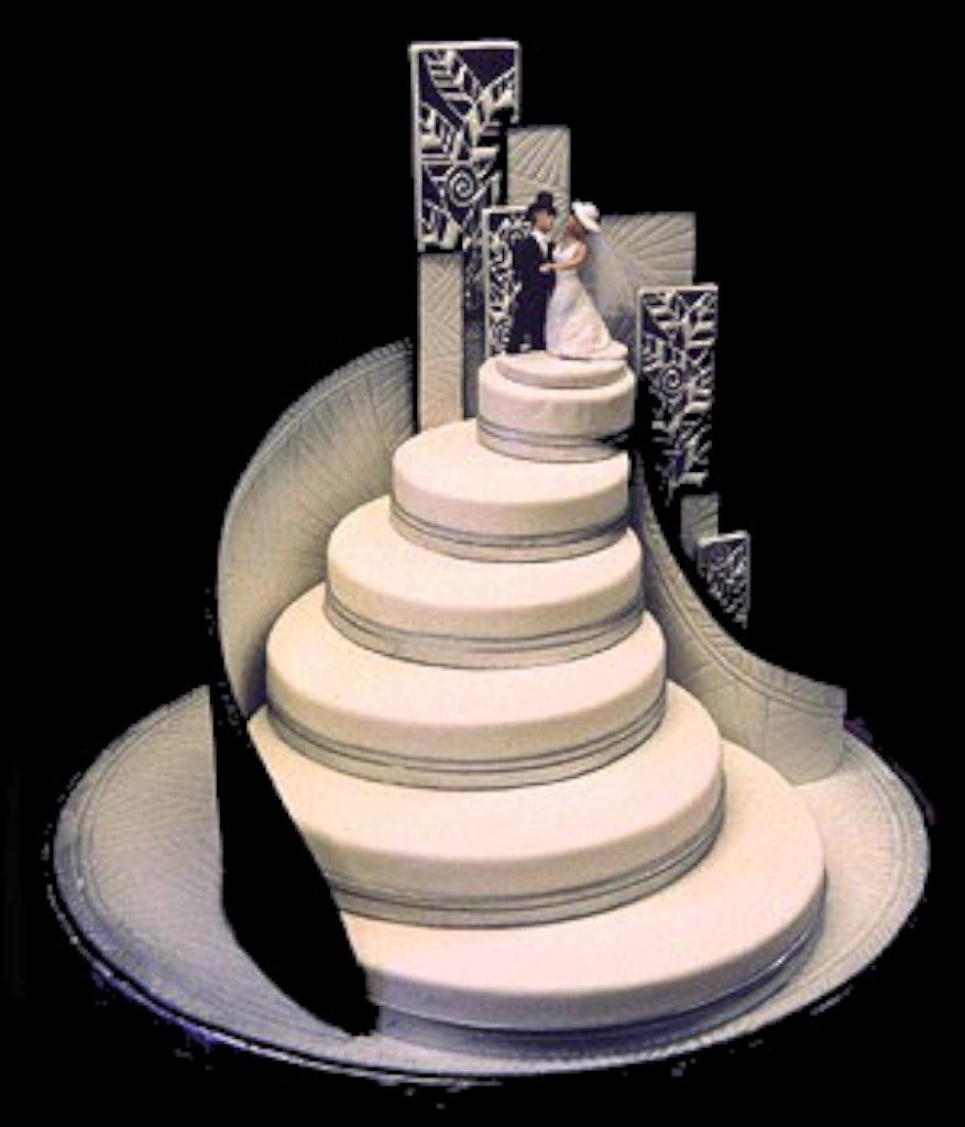 unique wedding cake designs wedding and bridal inspiration. Black Bedroom Furniture Sets. Home Design Ideas
