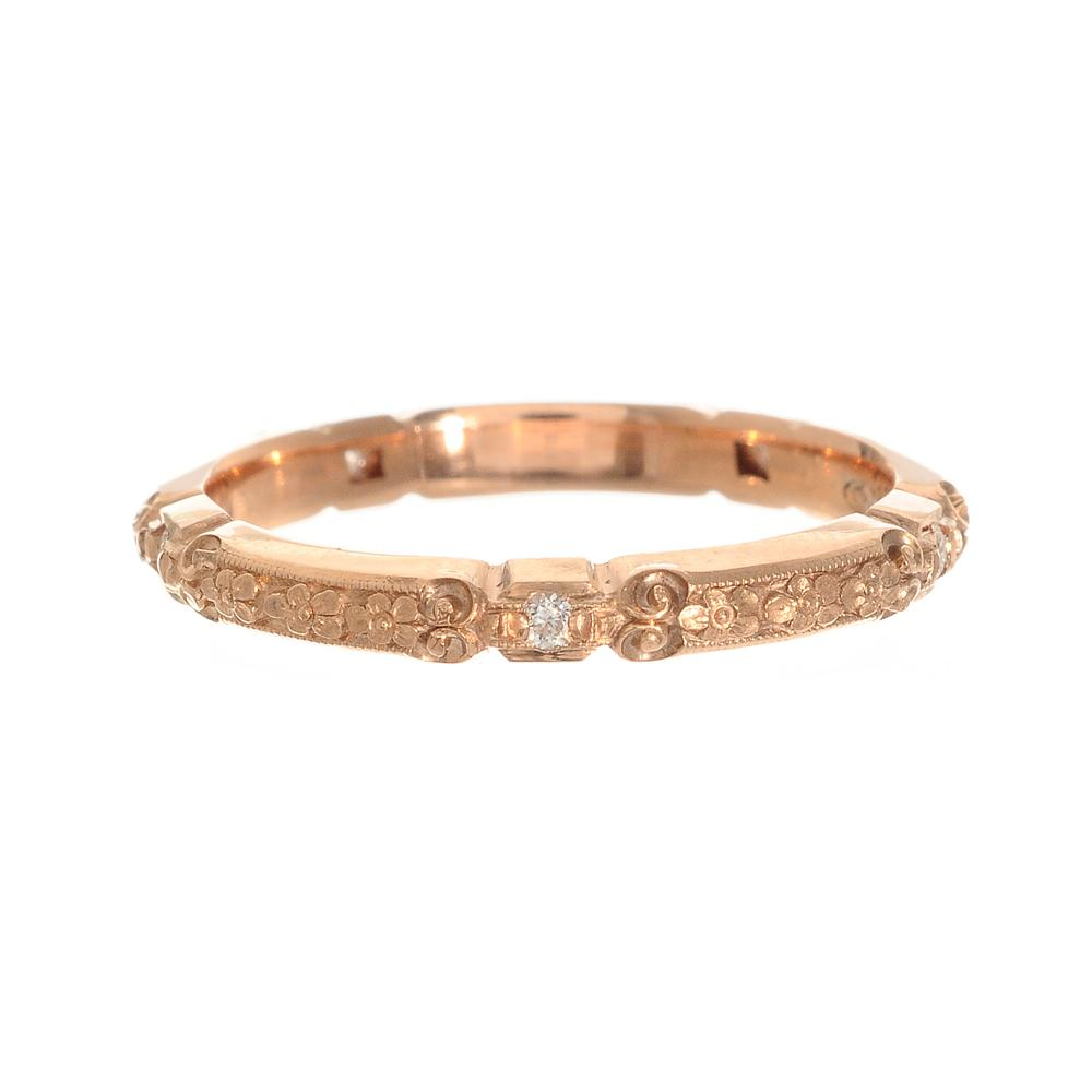 vintage gold wedding band wedding and bridal
