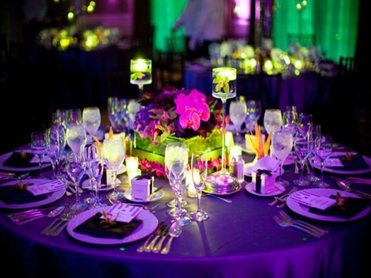 wedding reception centerpiece ideas on a budget wedding and bridal inspiration. Black Bedroom Furniture Sets. Home Design Ideas