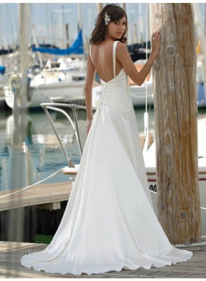 Beach Style Wedding Dresses 2015 Wedding And Bridal