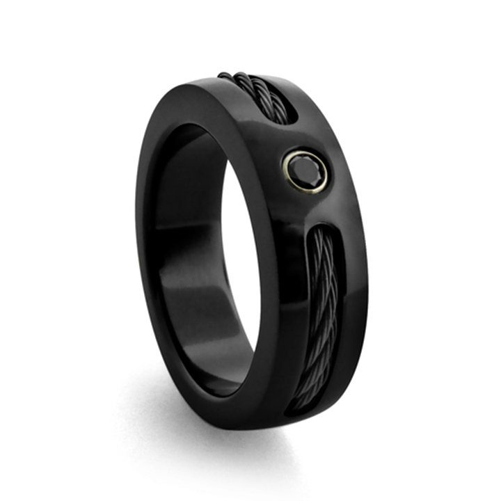 black wedding rings for him wedding and bridal inspiration