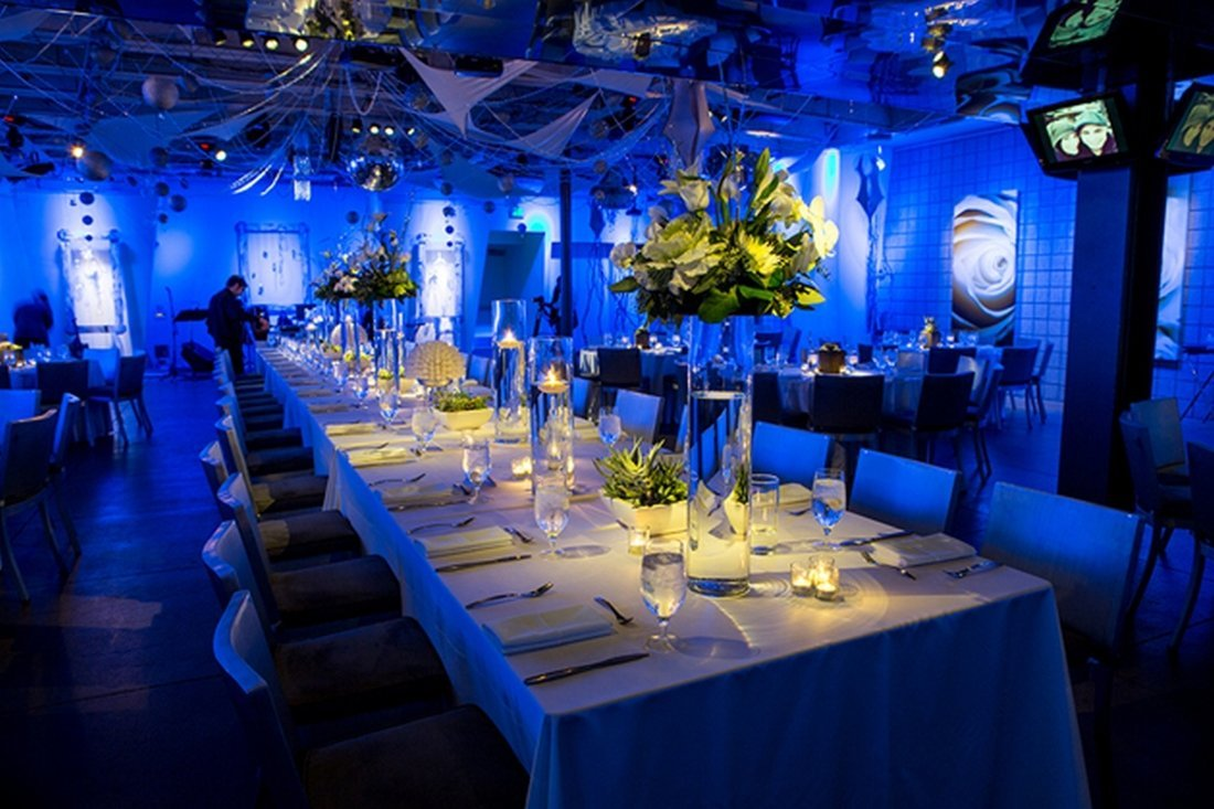 Blue Wedding Decorations: Blue Wedding Reception Decorations