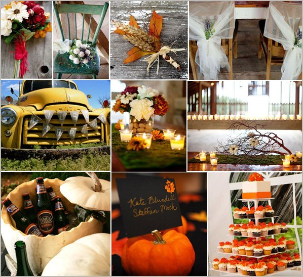 Country Wedding Ideas For Fall