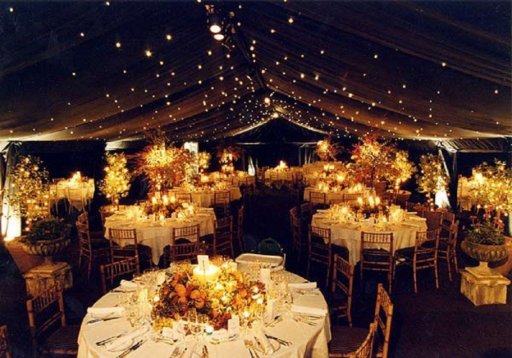 Fall wedding reception ideas wedding and bridal inspiration for Autumn wedding decoration