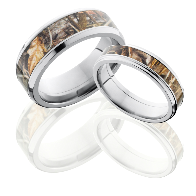 Matching Camo Wedding Rings - Wedding And Bridal Inspiration