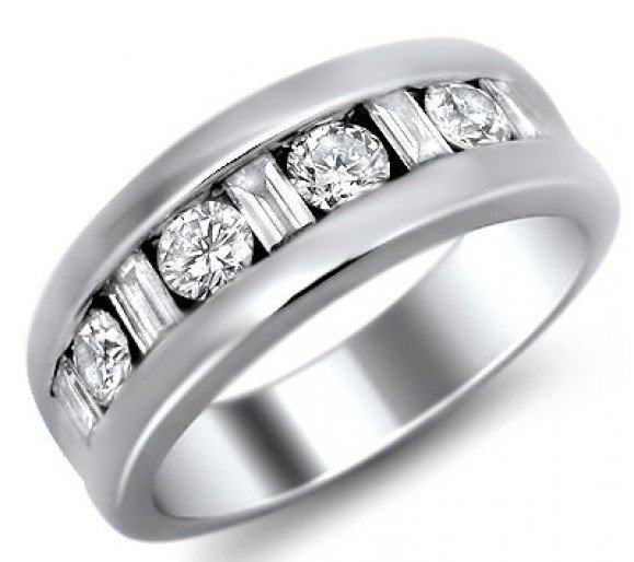 Mens Wedding Rings With Diamonds Wedding And Bridal Inspiration