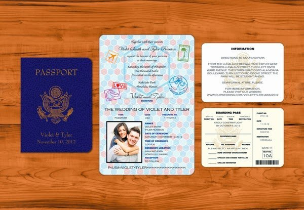 passport wedding program template - passport wedding invitation template wedding and bridal