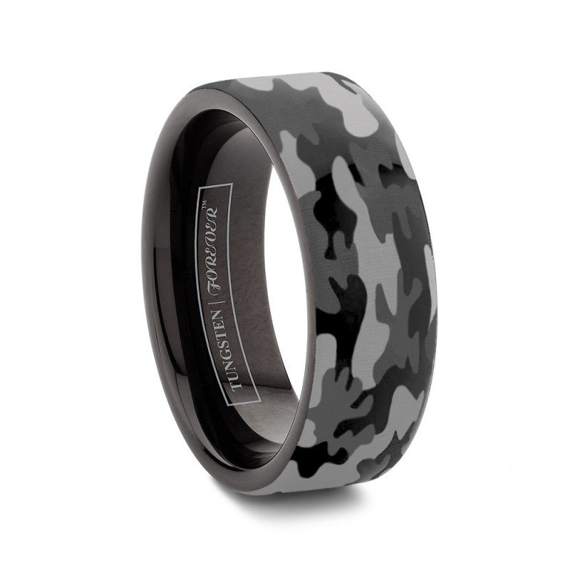 Tungsten camo wedding rings wedding and bridal inspiration for Tungsten camo wedding rings