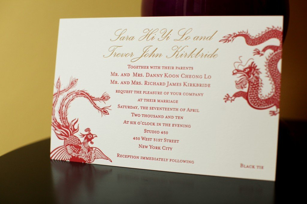 Vietnamese Wedding Invitation Template Wedding And