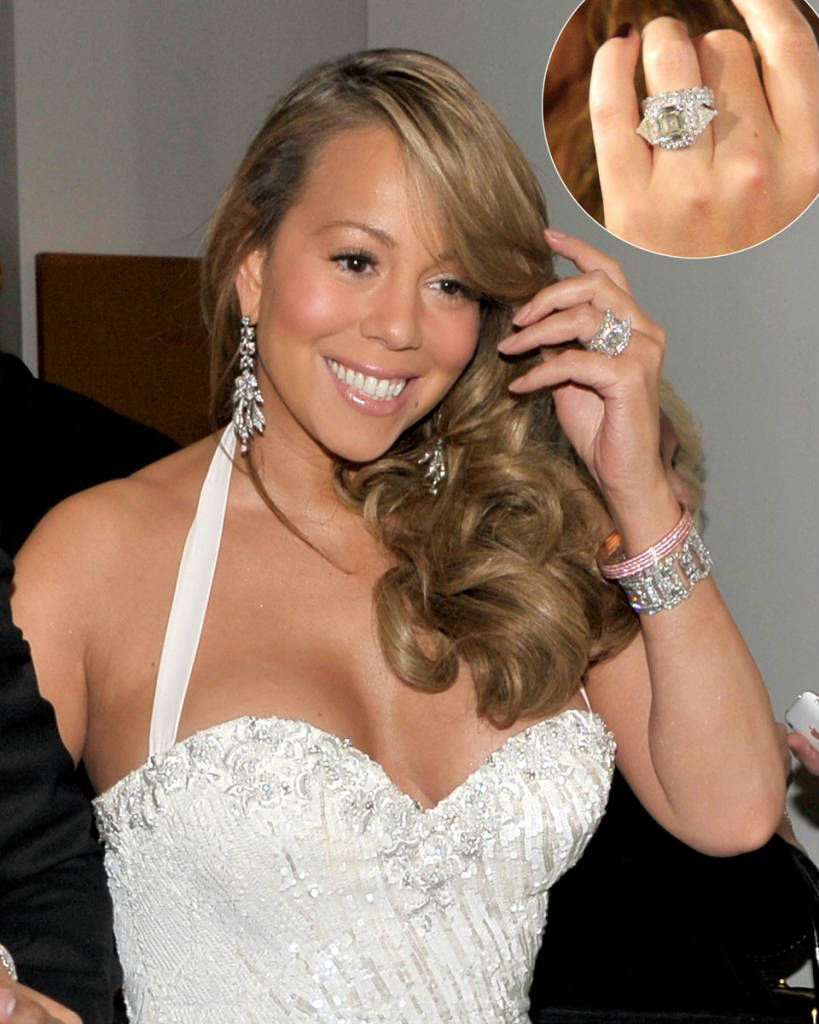 Biggest Celebrity Engagement Rings Wedding And Bridal