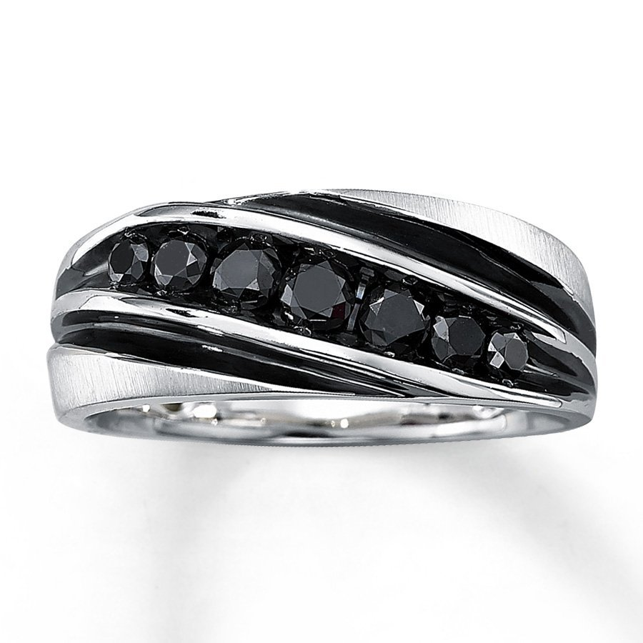 Black Diamond Engagement Rings for Men Wedding and Bridal Inspiration