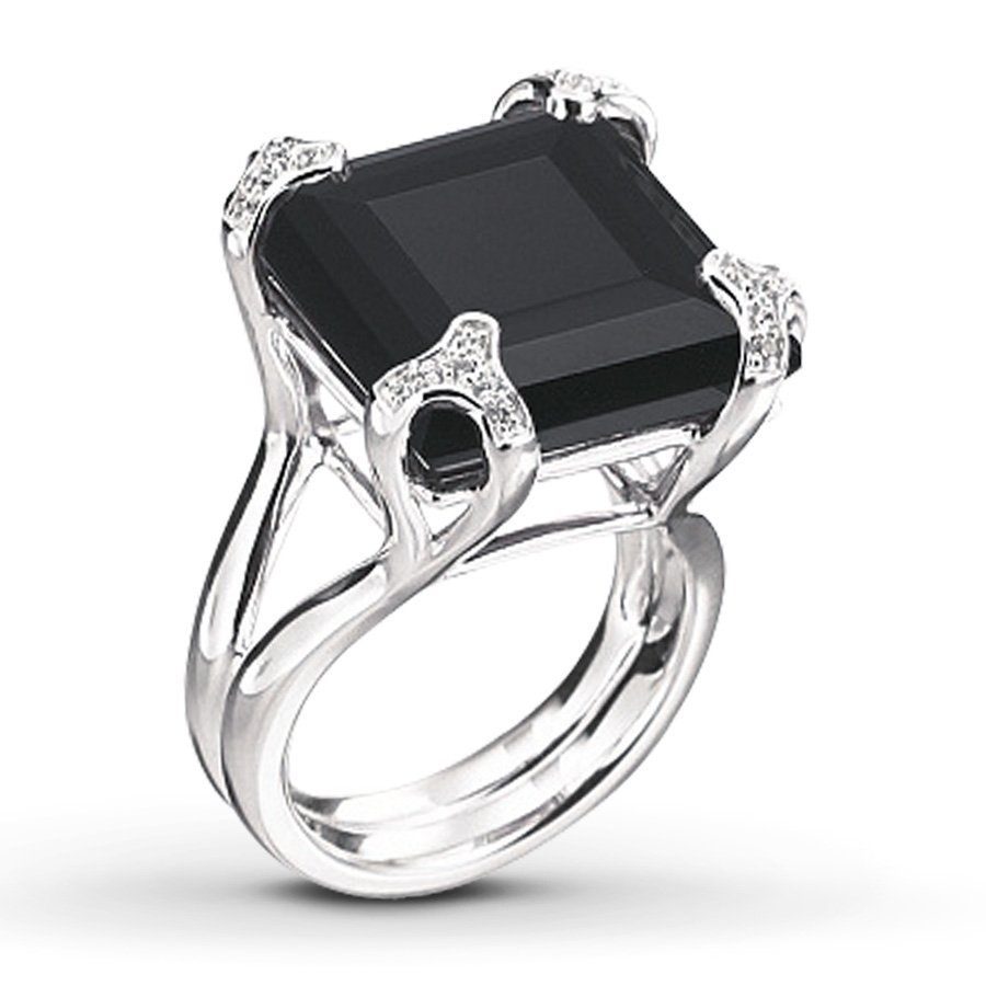 Black yx Engagement Rings Wedding and Bridal Inspiration