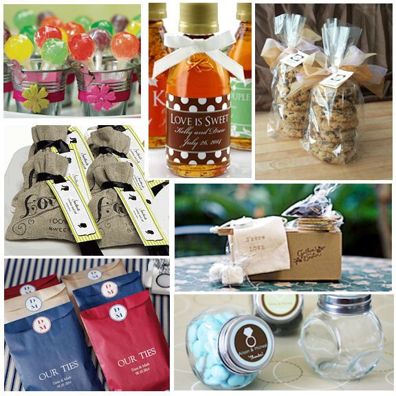 Unique Ideas For Wedding Favours: DIY Unique Wedding Favor Ideas