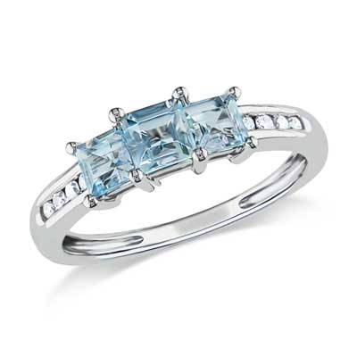 princess cut aquamarine engagement rings wedding and