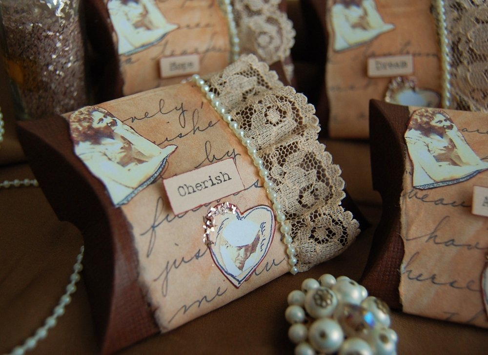 Wedding Favours Ideas 2015 : Vintage Wedding Favor IdeasWedding and Bridal Inspiration
