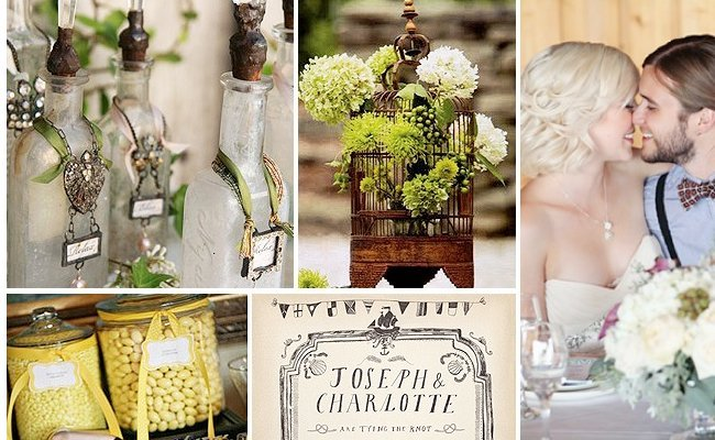 Spring Vintage Wedding Ideas: Vintage Wedding Ideas For Spring