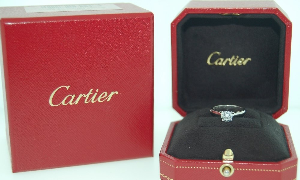 Cartier Engagement Ring Box Wedding And Bridal Inspiration