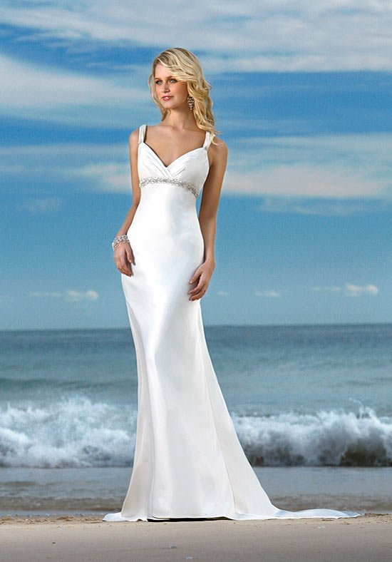 Simple Wedding Dresses For The Beach Wedding And Bridal