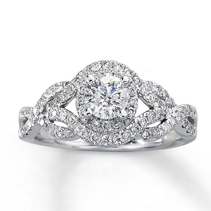 1 Carat Diamond Engagement Rings Under 1000 Wedding and Bridal Inspiration