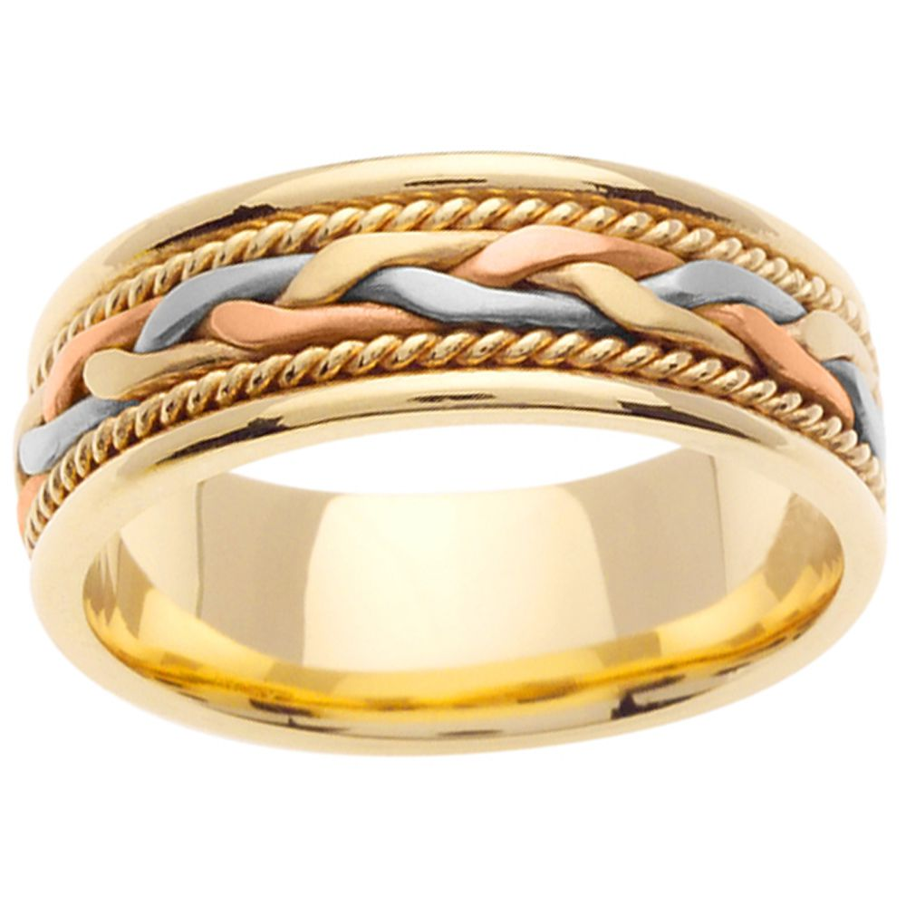 Mens Gold Wedding Bands The Sign Of Everlasting Love And Affection Weddin