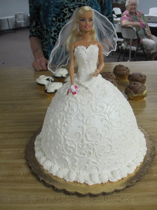 Barbie Doll Cake Wedding