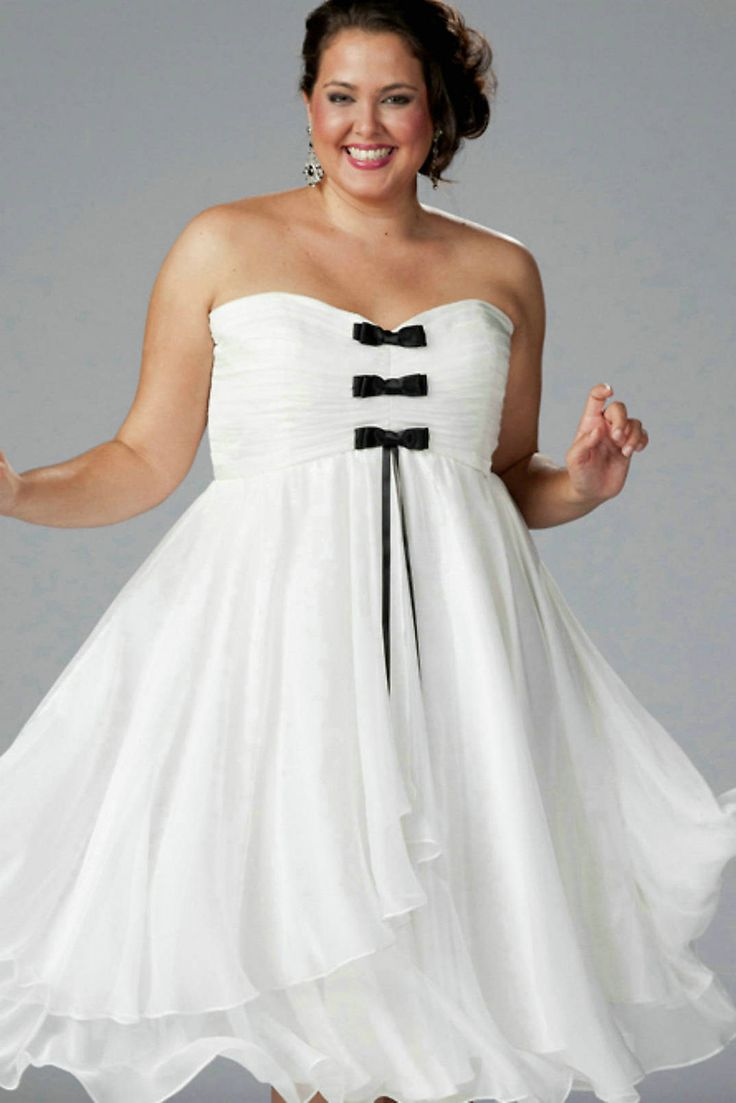 Black and white wedding dresses plus size wedding and for White dresses for wedding